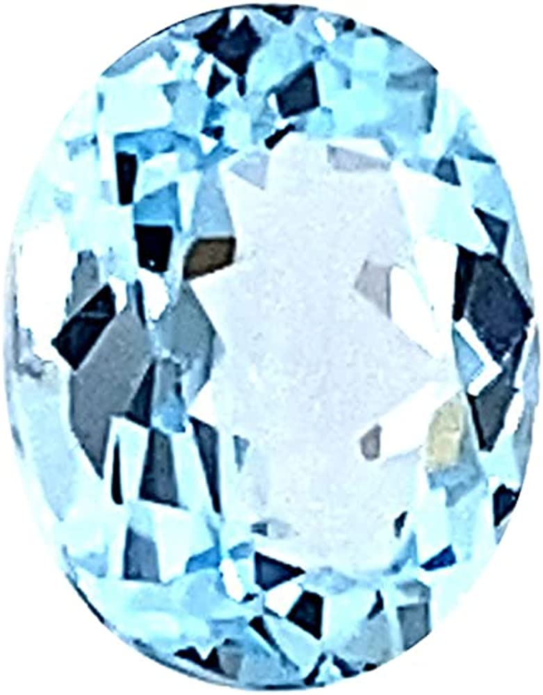 Instagem Sky Blue Topaz - Oval 6x4mm Finally New Free Shipping resale start from Cut AAA 14x10mm