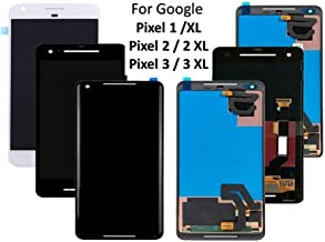 LCD Display Touch Screen Digitizer Assembly for Google Pixel 1 2 3 XL, Replacement Part Compatible for Google Pixel 5.5