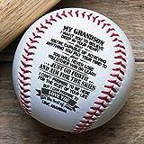 QUARTZILY Printed Baseball - Grandpa to Grandson Baseball - You Will Never Lose (BB - from Grandma)