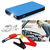 12V 20000mAh Car Jump Starter Multi-Function Battery Charger Mini Power Bank Booster (Blue)