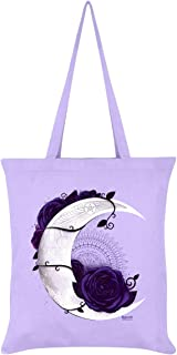 Requiem Collective Lunar Mandala Tote Bag Lilac 38 x 42cm