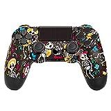 Mando Inalámbrico para PS4, Mando Inalámbrico Gamepad Doble Vibración Seis Ejes Mando Game Compatible con Playstation 4/PS4 Slim/PS4 Pro