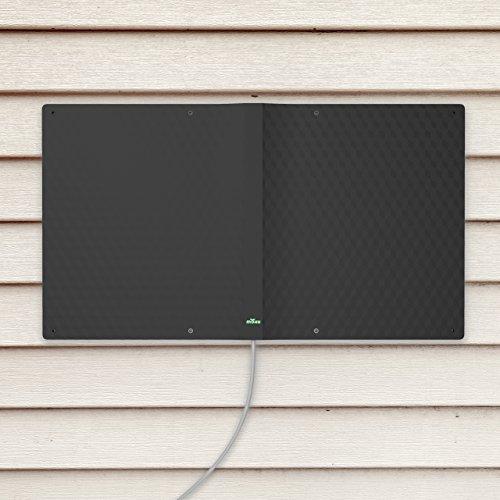 Mohu Striker Outdoor TV Antenna, 75 Mile Radius, Indestructible 7-in-1 Versatility, Flexible HDTV Indoor/Outdoor Antenna, 4K Ready