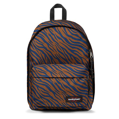EASTPAK Out Of Office Zaino, 44 cm, 27 Litri, Safari Zebra (Rosa)