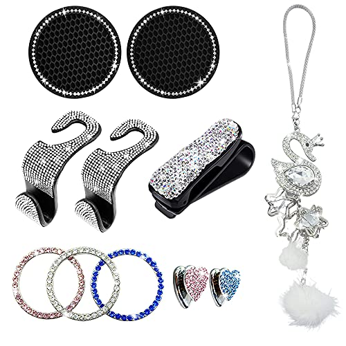 EXZ Bling Car Accessories Set fo...