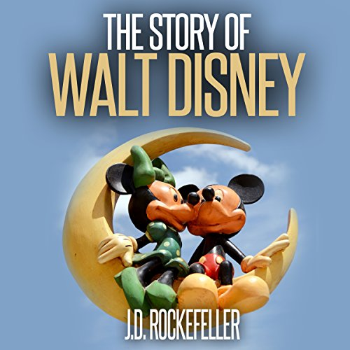 The Story of Walt Disney audiobook cover art