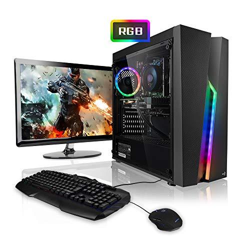Megaport Komplett-PC AMD Ryzen 5 2600 6x3.40 GHz • GeForce GTX1050Ti • 24