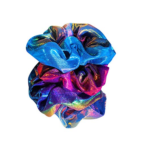 Scrunchies Hair Accessories pack for Girls   Teens and women aesthetic cute things   colorful Hair Ties   accesorios para el cabello