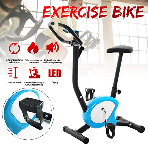SanyaoDU Inizio Cardio LED Indoor Cycle dinamica Biciclette Muto casa Esercizio Bicicletta Che Fila Ciclismo Attrezzi (Caricamento Massimo 150KG)