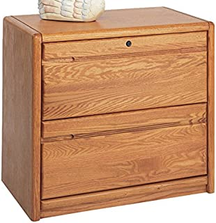 Martin Furniture Contemporary 2 Drawer Lateral File Cabinet, Fully Assembled