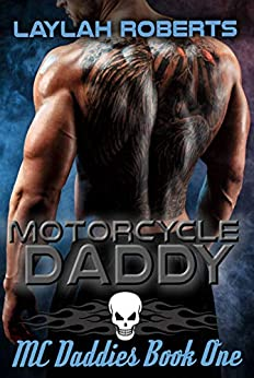 "alt=""She's the shy, quiet girl next door. He's the bad ass biker with an attitude. It's never going to work. . . Sunny knows she should steer clear of her neighbor. He's rough, gruff and quite possibly, dangerous. So why can't she keep her mind off him? Or her body from reacting around him? Or her Little side from wanting to appear and beg him to cuddle her, kiss her, spank her. . . Duke barely notices his neighbor. Until she becomes a convenient target for his bad mood. Afterwards he feels awful. In fact he starts to notice her in a completely different light. He might be a biker with an attitude, but all he's ever wanted is someone to love and protect. Someone to dominate and cherish. And it seems to him that Sunny just might give him everything he needs.  Please note: Motorcycle Daddy is about consenting adults. It includes spanking and some sexy scenes. If such material offends please don't purchase."""