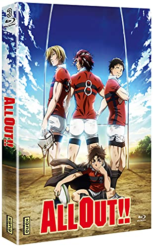 All Out !! - Intégrale [Francia] [Blu-ray]