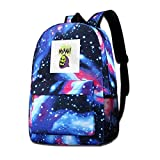 AOOEDM Galaxy Printed Shoulders Bag Skeletor Head Masters of The Universe He Man...