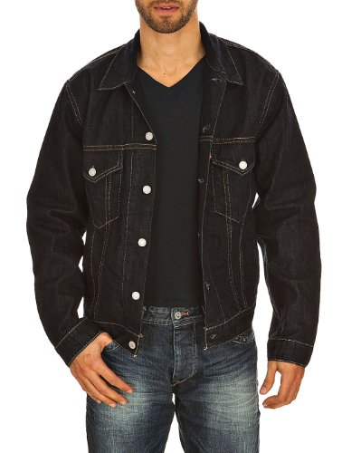 Levi's Trucker Jacket Chaqueta, Azul (One Wash), 54 para Hombre