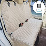 ✔FREE SAFETY COMPANION ACCESSORIES: Free car dog barrier prevent backseat pets or naughty kids from entering the front to affect your daily driving and case insecurity. Make sure them stay behind, MORE SAFE driving. Used as car mesh organizer, YOUR C...