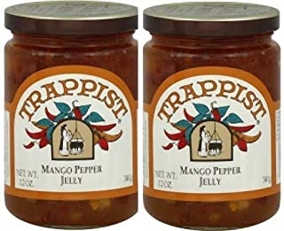 Trappist Marmalade Preserves 12 Ounce Pack Of 2 (Mango Pepper Jelly)