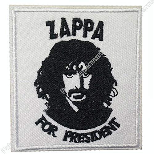 Astonish ASTONISCH 7,6 cm Zappa für President Frank Zappa Rock Band Logo Bestickt Aufbügler Applikation Cap Hut Heavy Metal