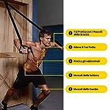 Zoom IMG-2 allenamento sospensione cinghie per regolabile
