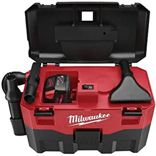 MILWAUKEE ELECTRIC TOOL 0880-20 Cordless Lithium-Ion Wet/Dry Vaccum Cleaner, 15.75