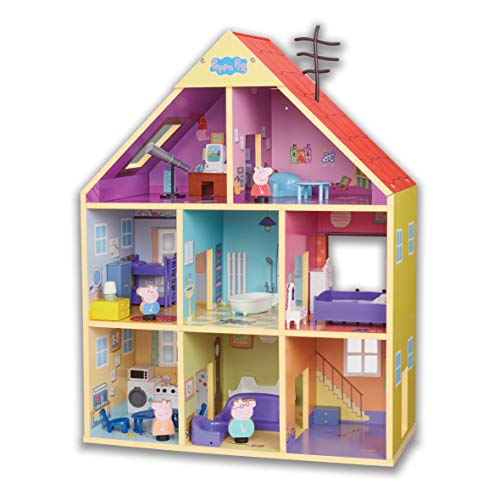 PEPPA PIG WOODEN HOUSE WITH ACCESSORIES
