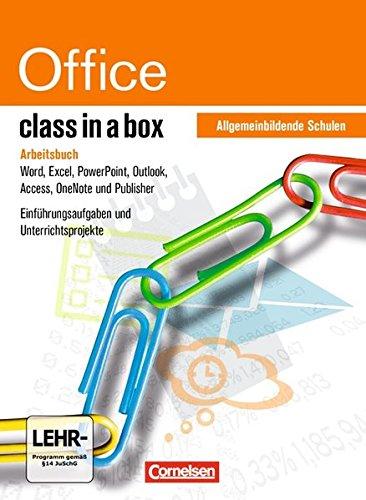 class in a box - Microsoft Office 2010: Office Professional 2010: Textverarbeitung, Tabellenkalkulation und Präsentation für Schulen. ... Schulen. Mit Übungsmaterial auf CD-ROM