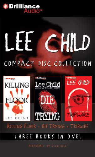 Lee Child CD Collection: Killing Floor, Die Trying, Tripwire (Jack Reacher Series)