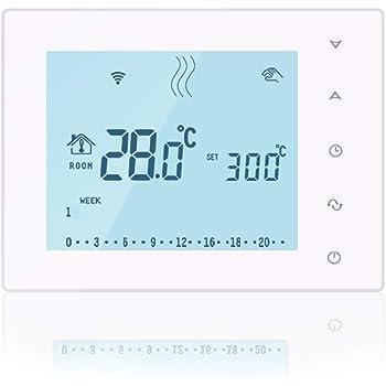 WiFi /& Sans Fil RF Thermostat Wall-hung chaudière gaz chauffage télécommande temper