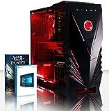 VIBOX Explosion 70 Gaming PC Ordenador de sobremesa con War Thunder Cupón de Juego, Windows 10 OS (4,2GHz AMD FX 8-Core Procesador, Radeon RX 580 Tarjeta Grafica, 16GB DDR3 1600MHz RAM, 1TB HDD-SSD)