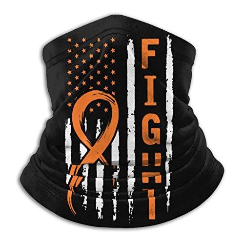 KKLDOGS Fight 2 - Pañuelo de microfibra para el cuello, para el frío, para invierno, para deportes al aire libre, unisex