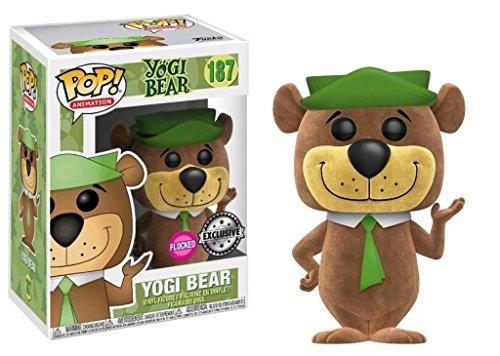 Figurine Pop Floquée Hanna Barbera Yogi Bear