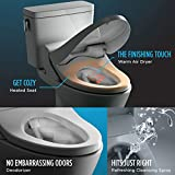 TOTO SW2044#01 C200 Electronic Bidet Toilet Cleansing Water, Heated Seat,...