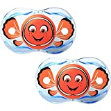 Razbaby Keep-It-Kleen Pacifier - Finley Clown Fish - 2 Count , 0-36 Months by...
