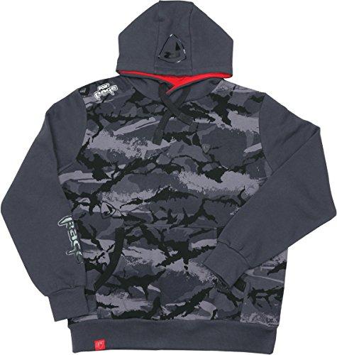 Fox Rage Camo Hoody - Angelpullover, Hoodie für Angler, Kapuzenpullover, Camouflage Pullover, Anglerpullover, Angelbekleidung, Größe:XL