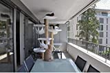 Clip Fijación para Redes Balcón (50 uds) + 1 Bote pegamento especial
