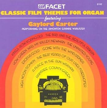 Film Themes For Organ