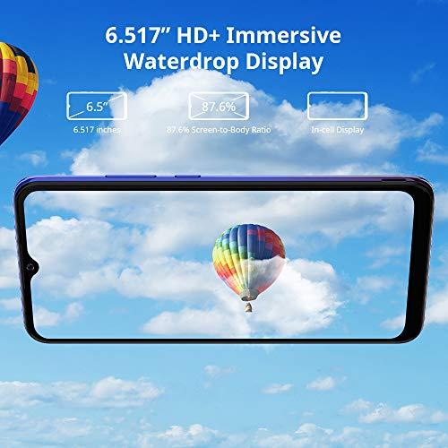 Android 11 Telephone Portable 4G, Blackview A70 (2021) Smartphone Pas Cher (Batterie 5380mAh, Écran Waterdrop 6.517