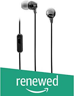 (Renewed) Sony MDR-EX14AP Headphone (Black)