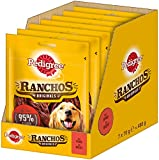 Pedigree Ranchos Originals – Weicher Hundesnack mit Rind – Schonend getrocknet – Ideal für kleine und große Hunde – 7 x 70g