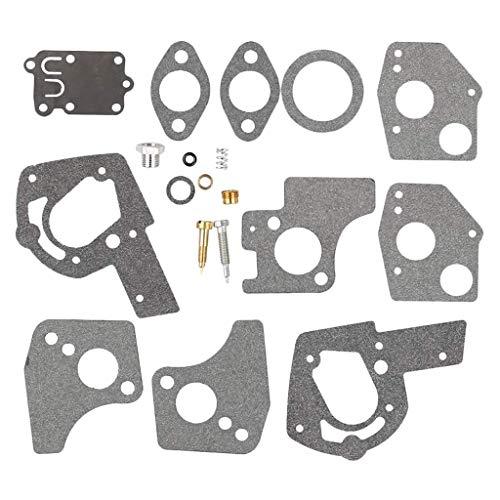 495606 carburador Revisión de reparación Kit de reconstrucción Fit Briggs & Stratton 495606 49462 Cortasetos carburador Conjunto De Confianza