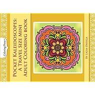 Pocket Kaleidoscopes: A Travel Size Mini Adult Coloring Book