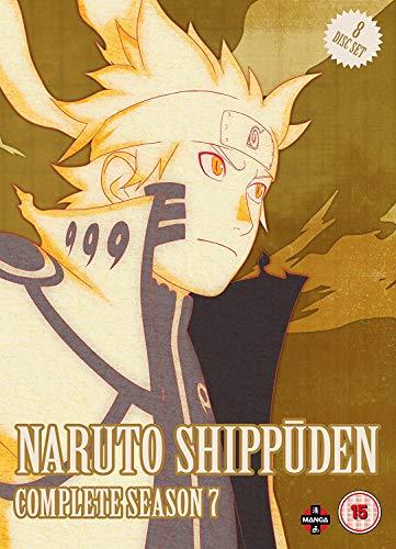 Naruto Shippuden Complete Series 7 Box Set (Episodes 297-348) [8 DVDs] [UK Import]