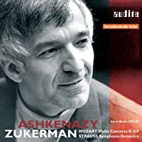 Mozart: Violin Concerto No. 5 / Strauss: Symphonia Domestica ~ Ashkenazy (2008-07-08)