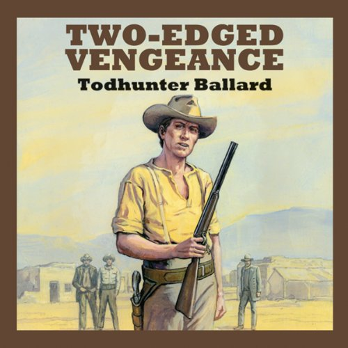Two-Edged Vengeance audiobook cover art