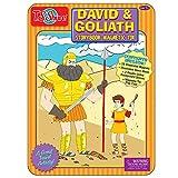 T.S. Shure David & Goliath Magnetic Tin Playset
