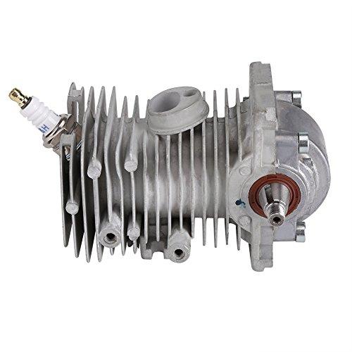 Zerodis 38mm Cilindro de pistón Cigüeñal Motor Pan Spark Plug Rebuild Assembly Se Adapta a STIHL MS170 MS180 018 Chainsaw
