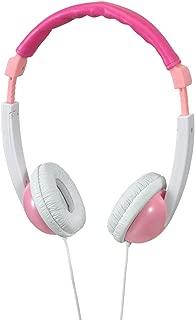 ELPA(エルパ) 子供専用ヘッドホン ピンク 音量抑制機能搭載で子どもの耳を守ります RD-KH100(PK)