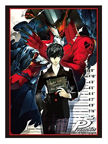 Bushiroad Persona 5 Protagonist P2 Trading Anime Card Game Character Sleeves Protector Collection Vol.1268 image