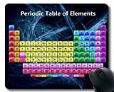 Almohadillas para Mouse, Tabla periódica de Elementos 2019 Almohadilla para Mouse para Juegos, Tabla para Estudiantes serios, Maestros, Alfombrilla Grande y Gruesa