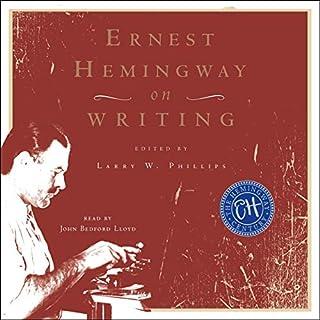 Ernest Hemingway on Writing cover art