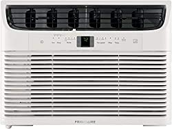 Frigidaire Energy Star 12,000 BTU 115V Window-Mounted Compact Air Conditioner with Full-Function Remote Control, White